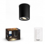5633030P6  Pillar Hue single spot black 1x5.5W 230V ZB+BT BLUETOOTH
