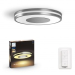 3261048P6 Being Hue ceiling lamp aluminium 1x32W ZB+BT PHILIPS HUE PLAFON Z BLUETOOTH
