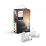 8718699629298 Philips HueAmbiance 5.5W GU10 EUR 2Pack HUE  Bluetooth