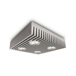 ROW LAMPA PLAFON 69067/87/16 PHILIPS O LED LEDY SZARA